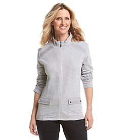 Alfred Dunner® Petites' Cape Hatteras French Terry Jacket
