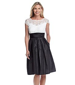 Sangria™ Illusion Lace Top Dress