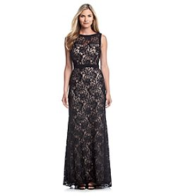 NW Collections Sequin Lace Dress