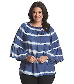 Chelsea & Theodore® Plus Size Tie Dye Tunic