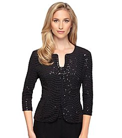 Alex Evenings® Sequin Jacket Twinset