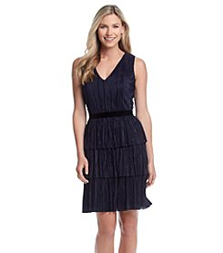 Marc New York® Triple Pleated Dress