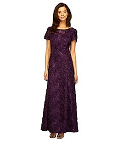 Alex Evenings® A-Line Rose Gown