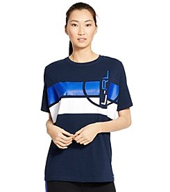 Lauren Active® Logo Stretch-Jersey T-Shirt
