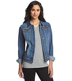 Ruff Hewn French Terry Denim Jacket