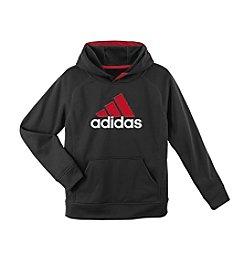 adidas® Boys' 8-20 Long Sleeve Fleece Hoodie