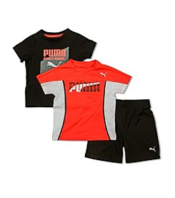 PUMA® Boys' 2T-7 3-Piece Winner Tees And Shorts Set