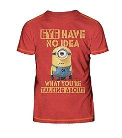 Despicable Me® Boys' 8-20 Eye Have No Idea Minions Tee