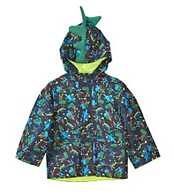 London Fog® Boys' 2T-7 Dino Print Jacket