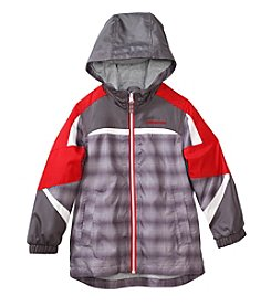 London Fog® Boys' 2T-7 Shadow Printed Jacket