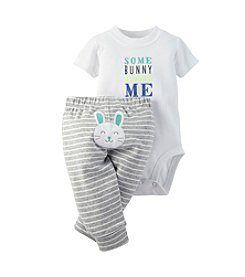 Carter's® Baby Boys Bunny Bodysuit Set