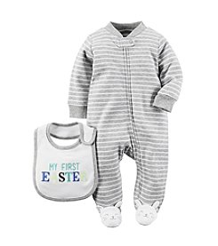 Carter's® Baby Boys' Easter Bodysuit And Snap Bib Set