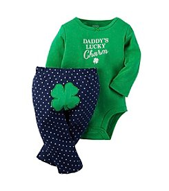 Carter's® Baby Girls' Lucky Charm Bodysuit Set