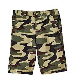 Ruff Hewn Boys' 8-20 Printed Flat Front Shorts