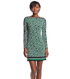MICHAEL Michael Kors® Boatneck Border Dress
