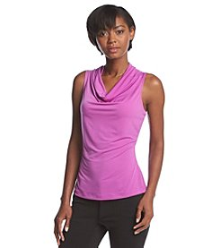 Marc New York Solid Drape Neck Cami