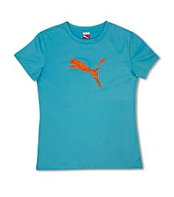 PUMA® Girls' 2T-6X Forever Faster Tech Tee