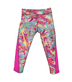 PUMA® Girls' 2T-6X Glow Dipping Dot Capri Leggings