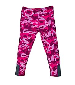 PUMA® Girls' 2T-6X Glow Camo Print Capri Leggings