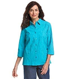 Breckenridge® Embellished Woven Shirt