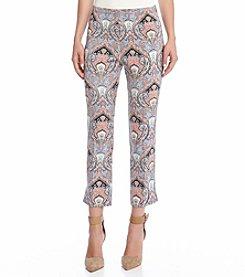 Karen Kane® Printed Crop Pants
