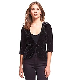 Robert Rodriguez® Crushed Velvet Jacket