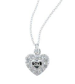 Marsala® Sterling Silver Love Pendant