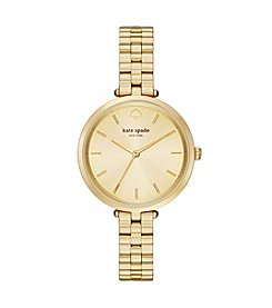 kate spade new york® Holland Goldtone Stainless Steel Watch