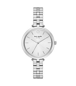 kate spade new york® Holland Silvertone Stainless Steel Watch