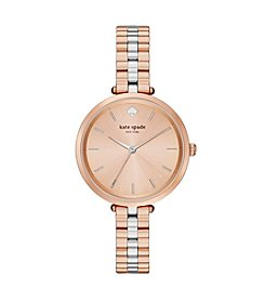 kate spade new york® Holland Two-Tone Stainless Steel Watch