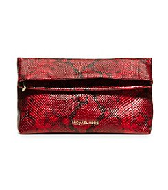 MICHAEL Michael Kors® Daria Embossed-Leather Clutch