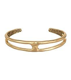 The Sak® Goldtone Small Open Metal Cuff Bracelet