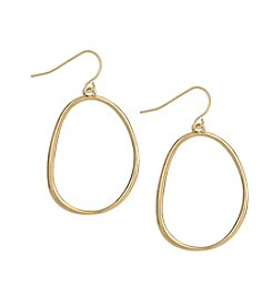 The Sak® Goldtone Delicate Hoop Earrings