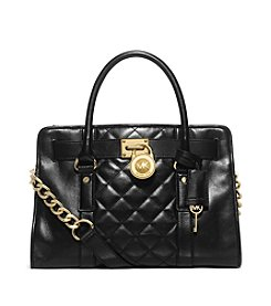 MICHAEL Michael Kors® Hamilton Quilted East West Satchel