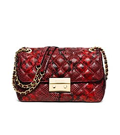 MICHAEL Michael Kors® Sloan Large Quilted Embossed-Leather Shoulder Bag