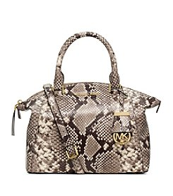 MICHAEL Michael Kors® Riley Small Embossed-Leather Satchel