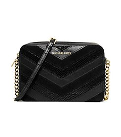 MICHAEL Michael Kors® Jet Set Travel Large Chevron Crossbody