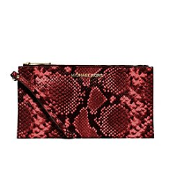 MICHAEL Michael Kors® Bedford Large Embossed-Leather Wristlet
