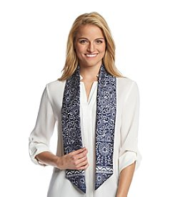 Basha Paisley Scroll Scarf