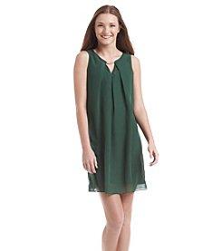 A. Byer Pleated Swing Dress