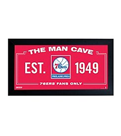 NBA® Philadelphia 76ers Man Cave Sign