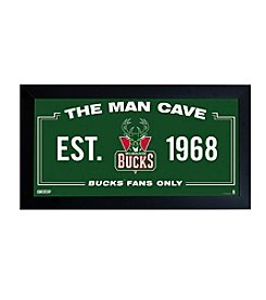 NBA® Milwaukee Bucks Man Cave Sign
