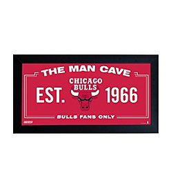 NBA® Chicago Bulls Man Cave Sign