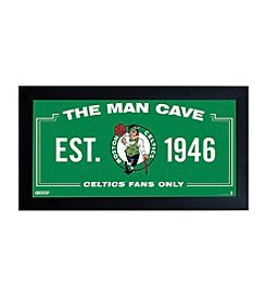 NBA® Boston Celtics Man Cave Sign