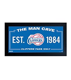 NBA® Los Angeles Clippers Man Cave Sign