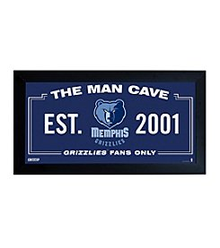 NBA® Memphis Grizzlies Man Cave Sign