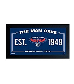 NBA® Atlanta Hawks Man Cave Sign