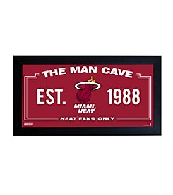 NBA® Miami Heat Man Cave Sign
