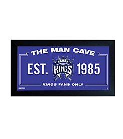 NBA® Sacramento Kings Man Cave Sign