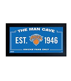 NBA New York Knicks Man Cave Sign